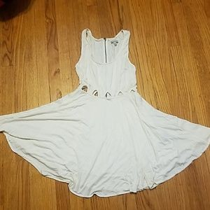 Lucca Contour White Skater Dress. Never Worn. Sz S